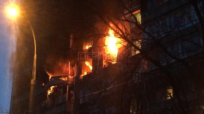 Навостоке Москвы произошел пожар вжилом доме