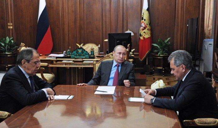 Путин поручил начать вывод основных сил ВКС России из Сирии