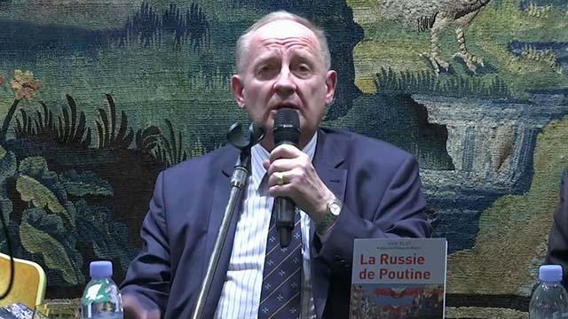 Французский писатель Иван Бло презентовал книгу «Россия Путина»