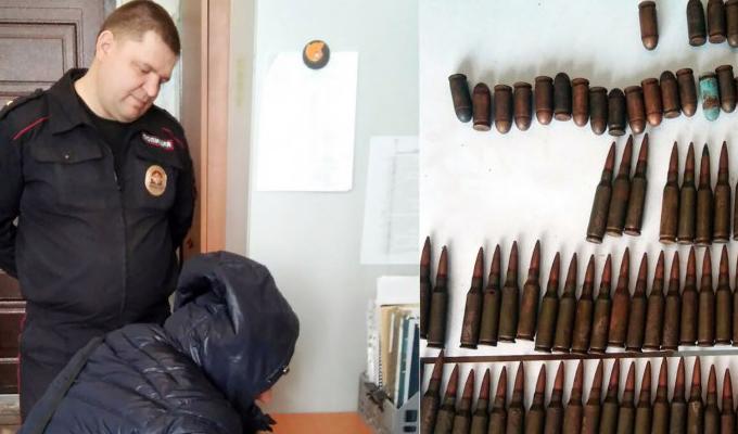 Житель Зимы получит вознаграждение за  добровольную сдачу 150 патронов