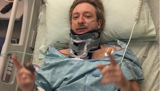 Плющенко идет напоправку после операции поудалению грыжи
