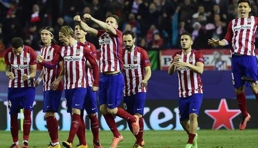 «Атлетико» вышел в четвертьфинал Лиги чемпионов УЕФА