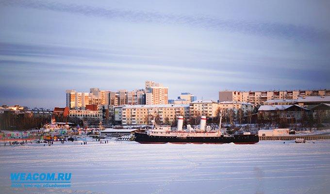 В Иркутске закрыли каток у ледокола «Ангара»
