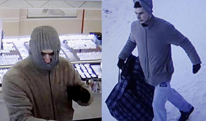 В Усть-Куте неизвестный мужчина в балаклаве ограбил ювелирный салон