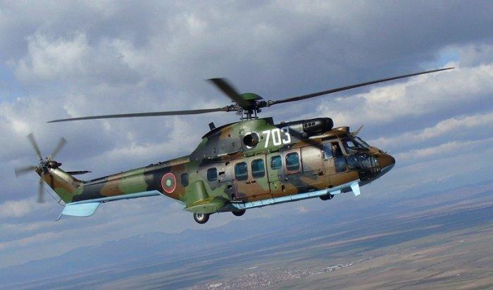 ВИндонезии разбился военный вертолет