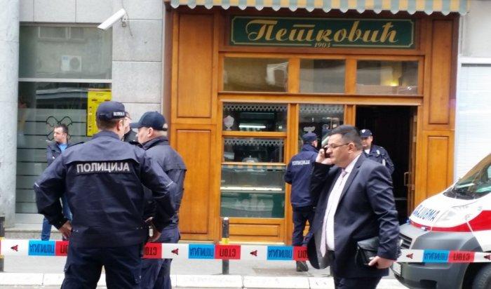 Мужчина подорвал себя вкондитерской вцентре Белграда