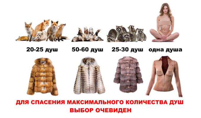 Иркутянка Лиана Клевцова разделась в знак протеста против убийства животных ради меха