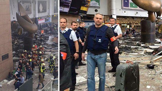 ВБрюсселе таксист помог полиции найти невзорвавшиеся бомбы