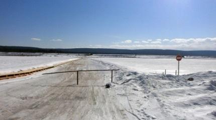 ВИркутской области закрыли крупнейшую ледовую переправу, соединявшую Ольхон сматериком