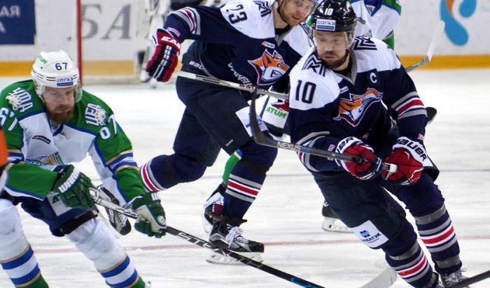 «Металлург» обыграл «Салават Юлаев» вматче ½финала Кубка Гагарина