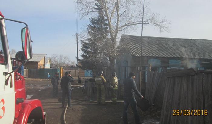 Впосёлке Усть-Ордынский при пожаре в частном доме погибла пенсионерка