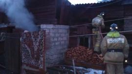 За ночь в Иркутской области произошло три пожара