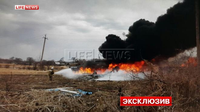 Штурмовик Су-25упал вПриморье
