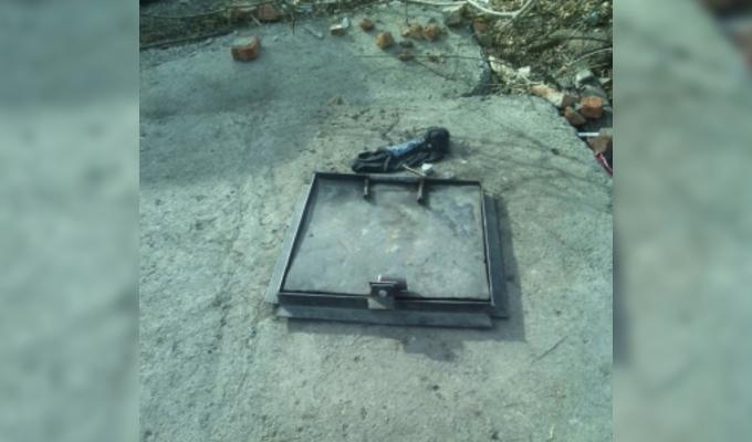 В Зиме во время пожара в коллекторе погиб бездомный мужчина