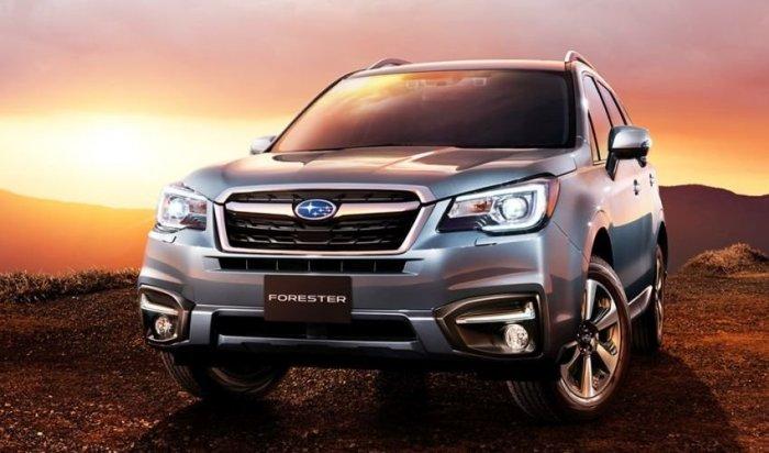 Продажи обновленного кроссовера Subaru Forester начнутся вРоссии вмае