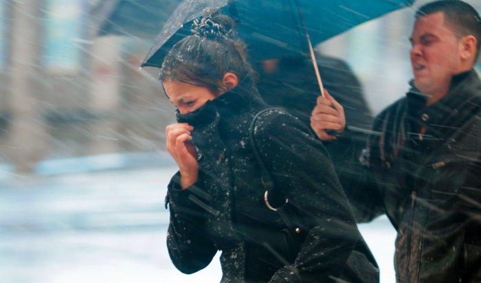 Жителей Иркутской области предупреждают о штормовом ветре в ближайшие сутки