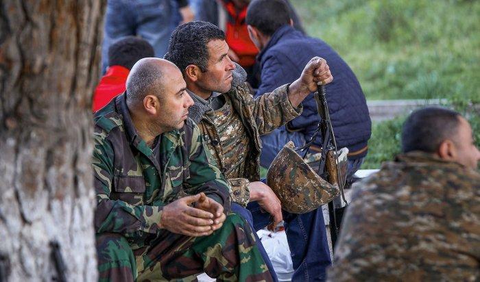 Взоне карабахского конфликта установлено перемирие
