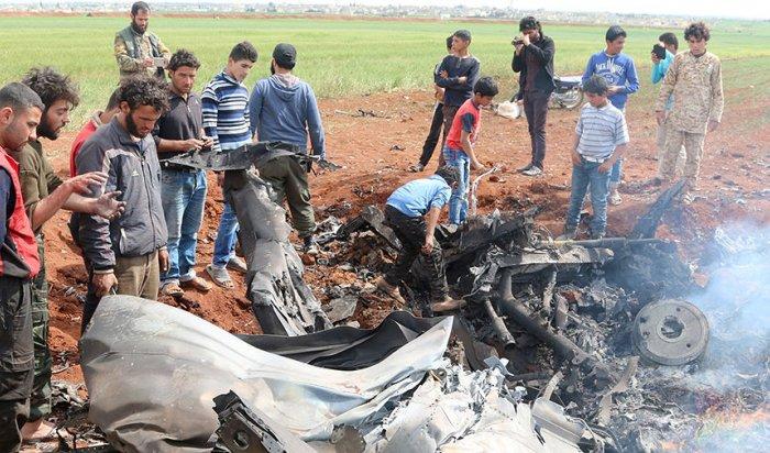 Под Алеппо исламисты сбили самолет ВВС Сирии Су-22 (ВИДЕО)