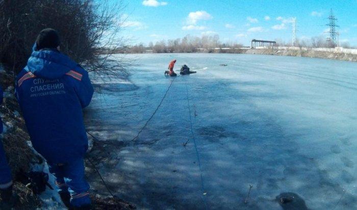 В Иркутске погиб рыбак, провалившись под лед