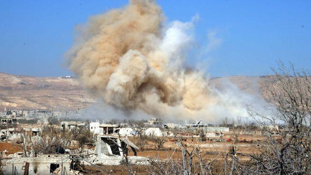 Российская авиация предотвратила наступление боевиков вАлеппо