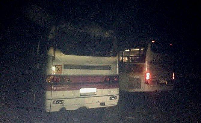В Шелехове выясняют обстоятельства возгорания двух автобусов