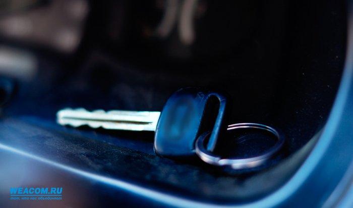 В Шелехове задержаны подозреваемые в автоугонах