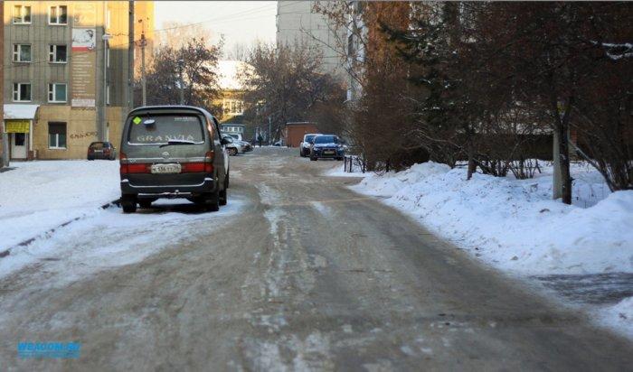 В этом году отремонтируют дороги в 169 дворах Иркутска