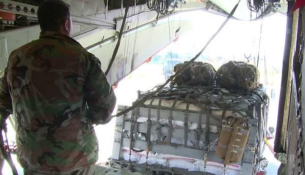 В осажденный боевиками Дейр-эз-Зор доставлена гумпомощь России
