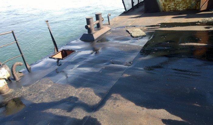 В Иркутске разыскивают очевидцев разлива нефтепродуктов в Ангару