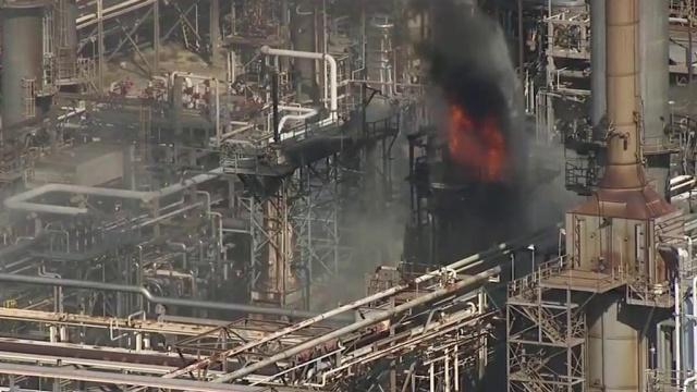 ВТехасе горит второй повеличине нефтехимический комплекс вСША