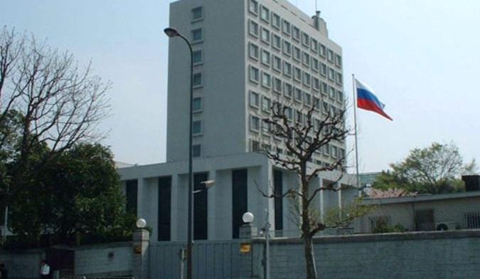 ВТокио трое японцев попытались проникнуть впосольство России