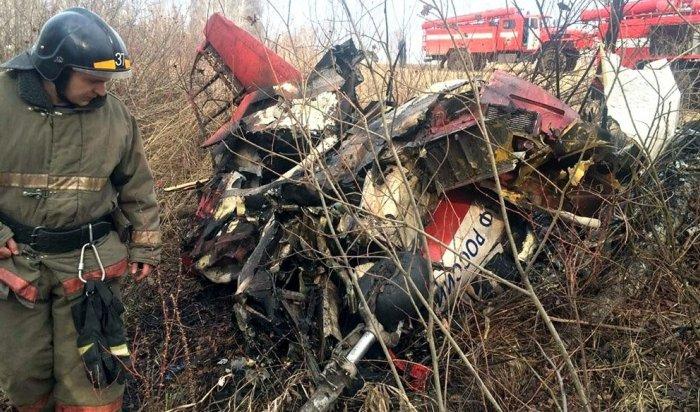 Вовремя тренировочного полета под Челябинском разбился Як-52