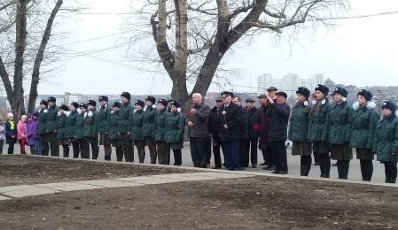В Иркутске прошел митинг в честь 55-й годовщины Дня авиации и космонавтики