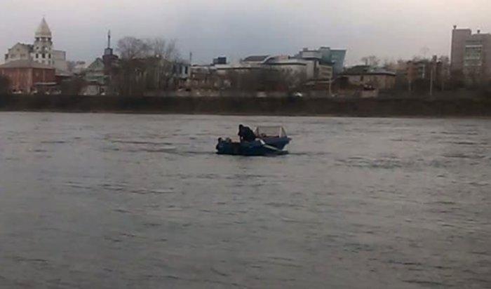 Мужчина, прыгнувший с моста в Иркутске, оказался причастен к убийству без вести пропавшей девушки