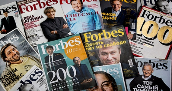 Forbes опубликовал список богатейших бизнесменов России