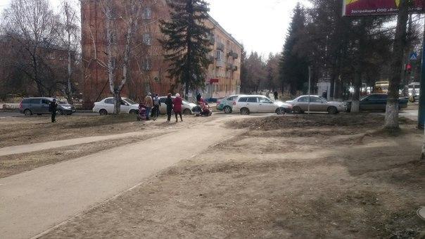 В Академгородке Иркутска сбили 7-летнюю девочку