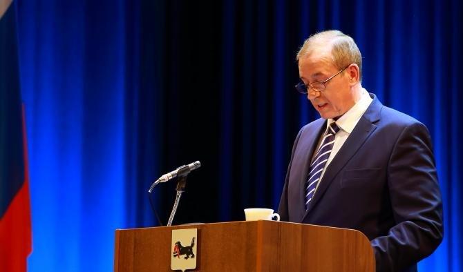 Сергей Левченко огласил ежегодное послание о положении дел в Иркутской области