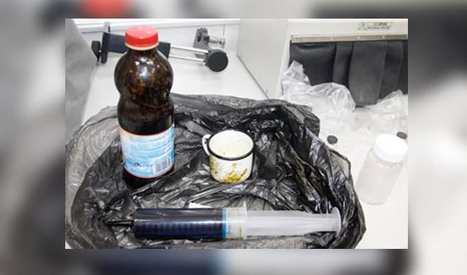В Иркутске задержаны двое сбытчиков гашишного масла