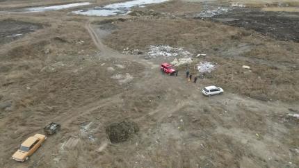 В Иркутском районе с помощью беспилотника задержаны двое поджигателей мусора