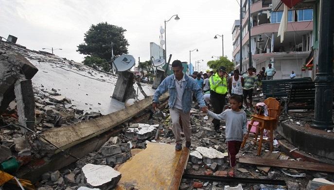 Землетрясение вЭквадоре унесло жизни 246человек