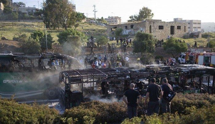 СМИ: ВИерусалиме взорвался автобус
