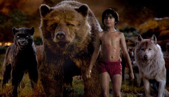 Фильм «Книга джунглей» вторую неделю подряд возглавляет российский прокат