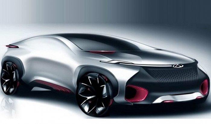 Chery презентует на Пекинском автосалоне концептуальное купе FV2030