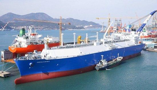 В Европу отправился первый танкер с американским сжиженным газом