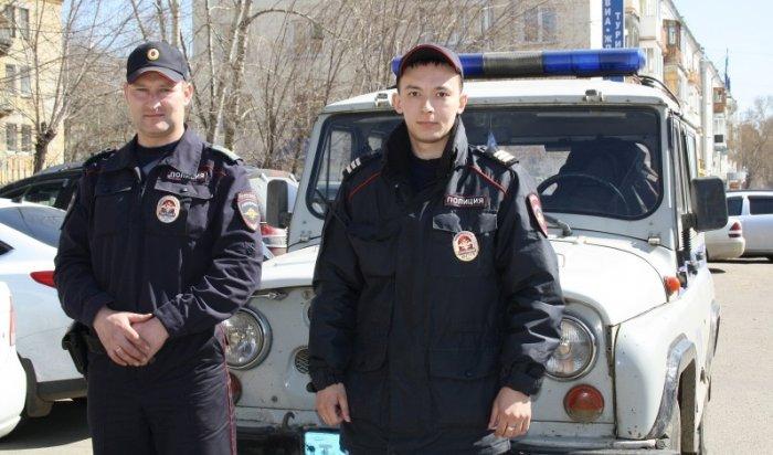 В Ангарске полицейские разыскали ребенка, ушедшего из детского сада