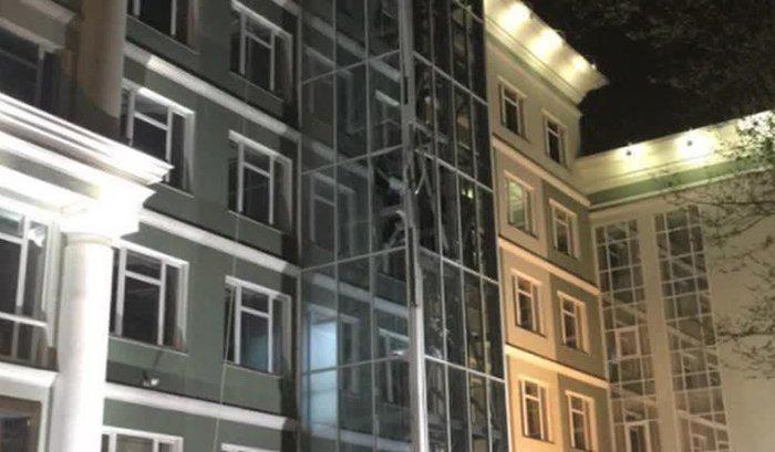 В Одессе неизвестный обстрелял изгранатомета банк