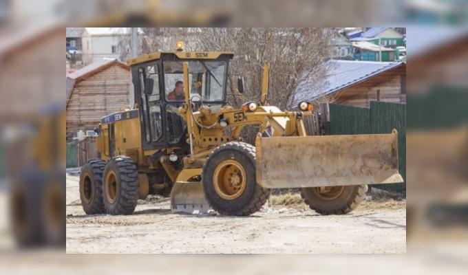 В Иркутске начался ремонт дорог малыми картами