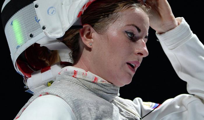 Женская сборная России пофехтованию завоевала золото начемпионате мира