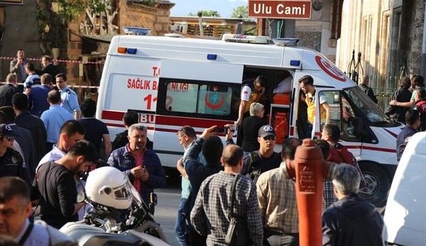 Террористка-смертница устроила взрыв втурецкой Бурсе