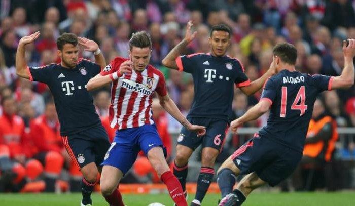 «Атлетико» обыграл «Баварию» в полуфинальном матче Лиги чемпионов